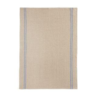FLORENCE TEA TOWEL  52X70 LINEN 100%  -COUNTRY BLEU