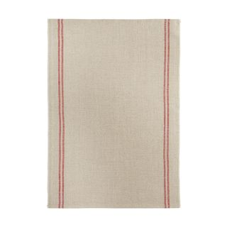 FLORENCE TEA TOWEL  52X70 LINEN 100%  -COUNTRY ROUGE