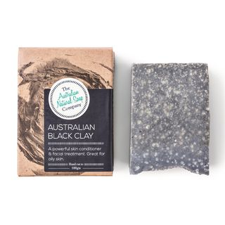 ANSC SOAP 100G- AU BLACK CLAY