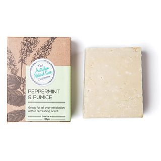 ANSC SOAP 100G- PEPPERMINT & PUMICE