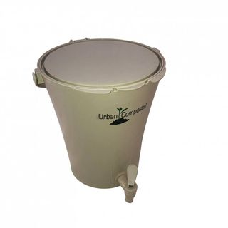 URBAN COMPOSTER CITY 8L - NATURAL LID