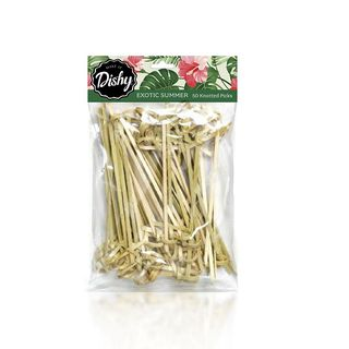 DISHY EXOTIC PARTY BAMBOO PICK 10CM 50PK