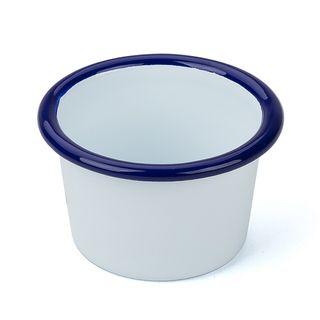 FALCON EW MINI DIP CUP BLUE/WT 6CM