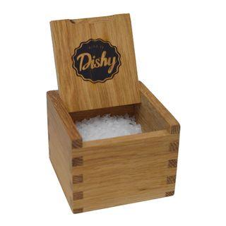 DISHY SALTBOX CYPRUS WHITE FLAKE SALT