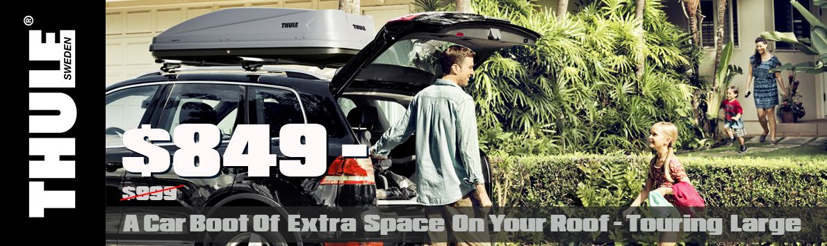 Car boot of extra space on your roof - Touring Large