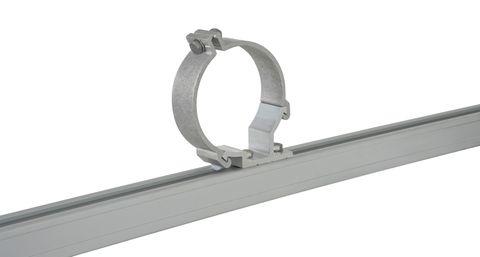Rhino Conduit Clamp Offset 100mm X2