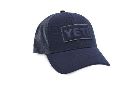Yeti Trucker Hat Navy On Navy Patch