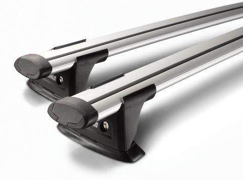 Yakima Aero ThruBar - Silver
