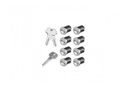 Yakima Sks Lock Cores 8 Pack