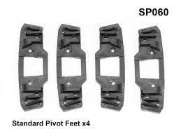 Wispbar Standard Pivot Feet (4x)