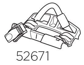 Thule 598 Wheel Tray Rear (52671)