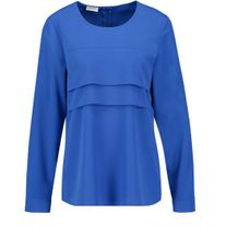 GERRY WEBER 160006 PLEATED TOP ROYAL BLUE