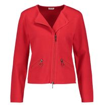 GERRY WEBER 131051 ZIP JACKET RED