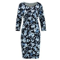 GERRY WEBER 885089 FLORAL DRESS BLUES