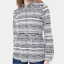 GERRY WEBER 660058 BLOUSE GEOMETRIC