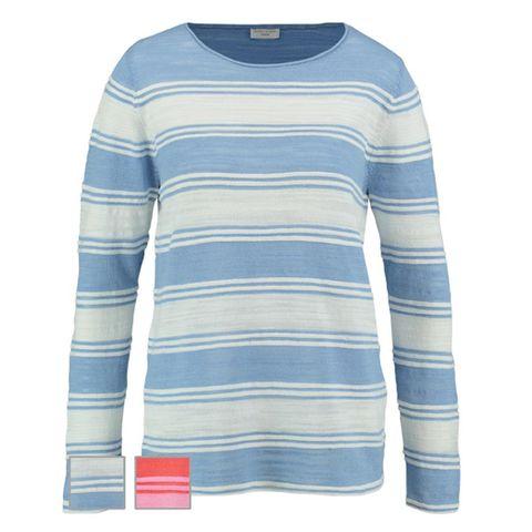 GERRY WEBER 671122 TOP WHITE/BLUE