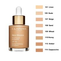 CLARINS SKIN ILLUSION SPF15 FOUNDATION