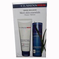 CLARINS MENS SKIL ESSENTIALS PACK 50ML X 2
