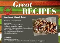 Lunchbox Muesli Bars