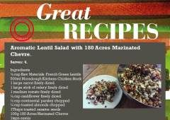 Aromatic Lentil Salad Recipe