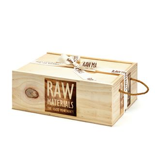 RM Small Wooden Gift Hamper Box