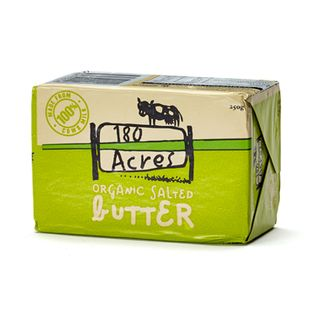 180 Acres Organic Butter Salted 250g