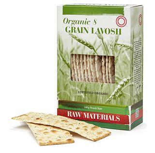 RM Organic 8 Grain Lavosh 140g