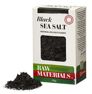 RM Salt Flakes Black 125g