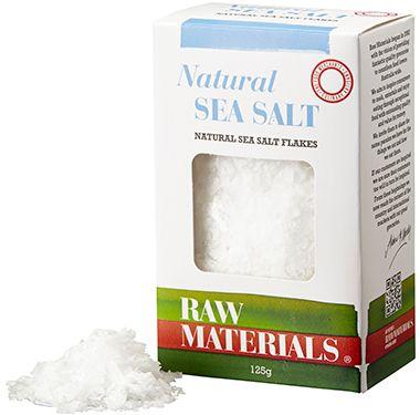 RM Salt Flakes Natural 125g