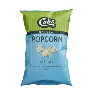 Cobs Natural Sea Salt Popcorn (12x80g)