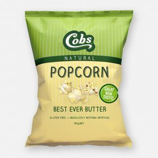 Cobs Popcorn Best Ever Butter (12x100g)