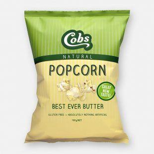 Cobs Popcorn Best Ever Butter (12x100g)
