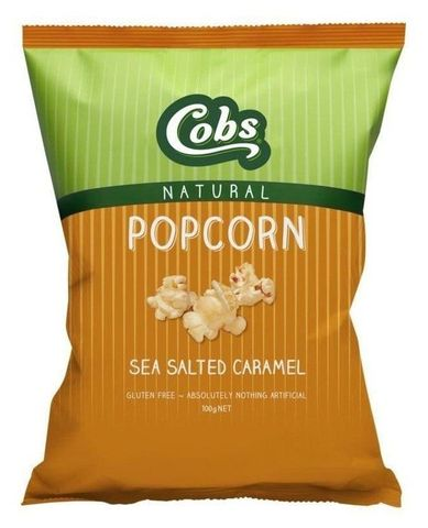 Cobs Salted Caramel Popcorn (12x100g)
