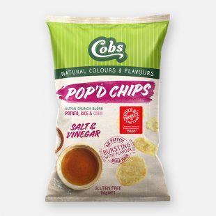 Cobs Popd Salt & Vinegar (12x110g)