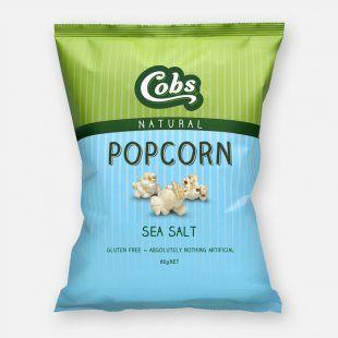 Cobs Natural Sea Salt (12x20g)