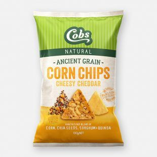 Cobs Ancient Grains Cheddar (12x130g)