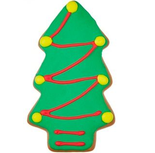 Christmas Tree Iced Gingerbread 70g