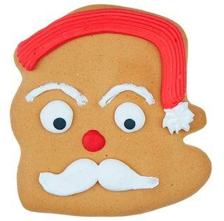 Santa Face Iced Gingerbread 70g