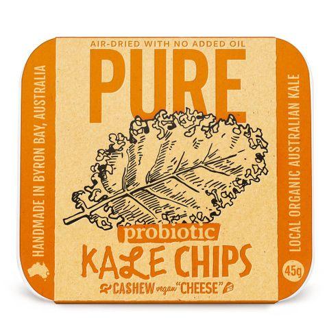Pure Kale Chips Cashew & Veg Cheese 45g