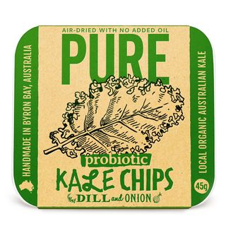 Pure Kale Chips Dill & Onion 45g