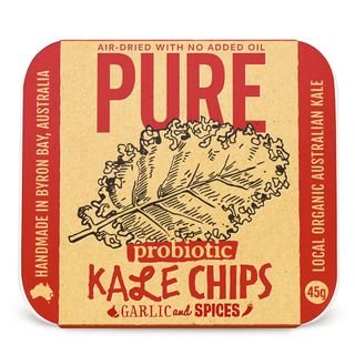 Pure Kale Chips Garlic & Spices 45g