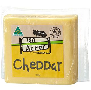 180 Acres Cheddar 200g