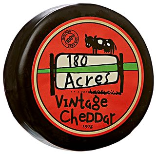 180 Acres Vintage Wax Cheddar 150g