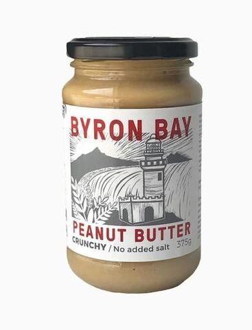 B/Bay Crunchy Unsalted Peanut Butter375g
