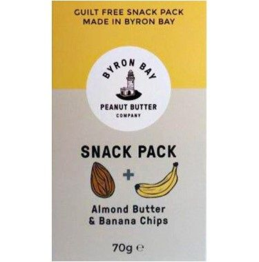 B/Bay Snack Pack Almond Banana 70g