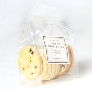 Beatties Berry Shortbreads 150g