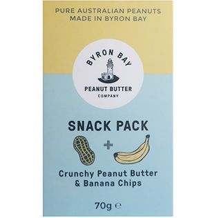 B/Bay Snack Pack Peanut Banana 70g