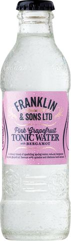 Franklin & Sons Pink/G Tonic Water 200ml