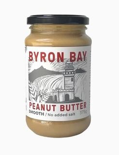 B/Bay Smooth Unsalted Peanut Butter 375g