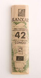 Blanxart Organic Milk Chocolate 42% 48g
